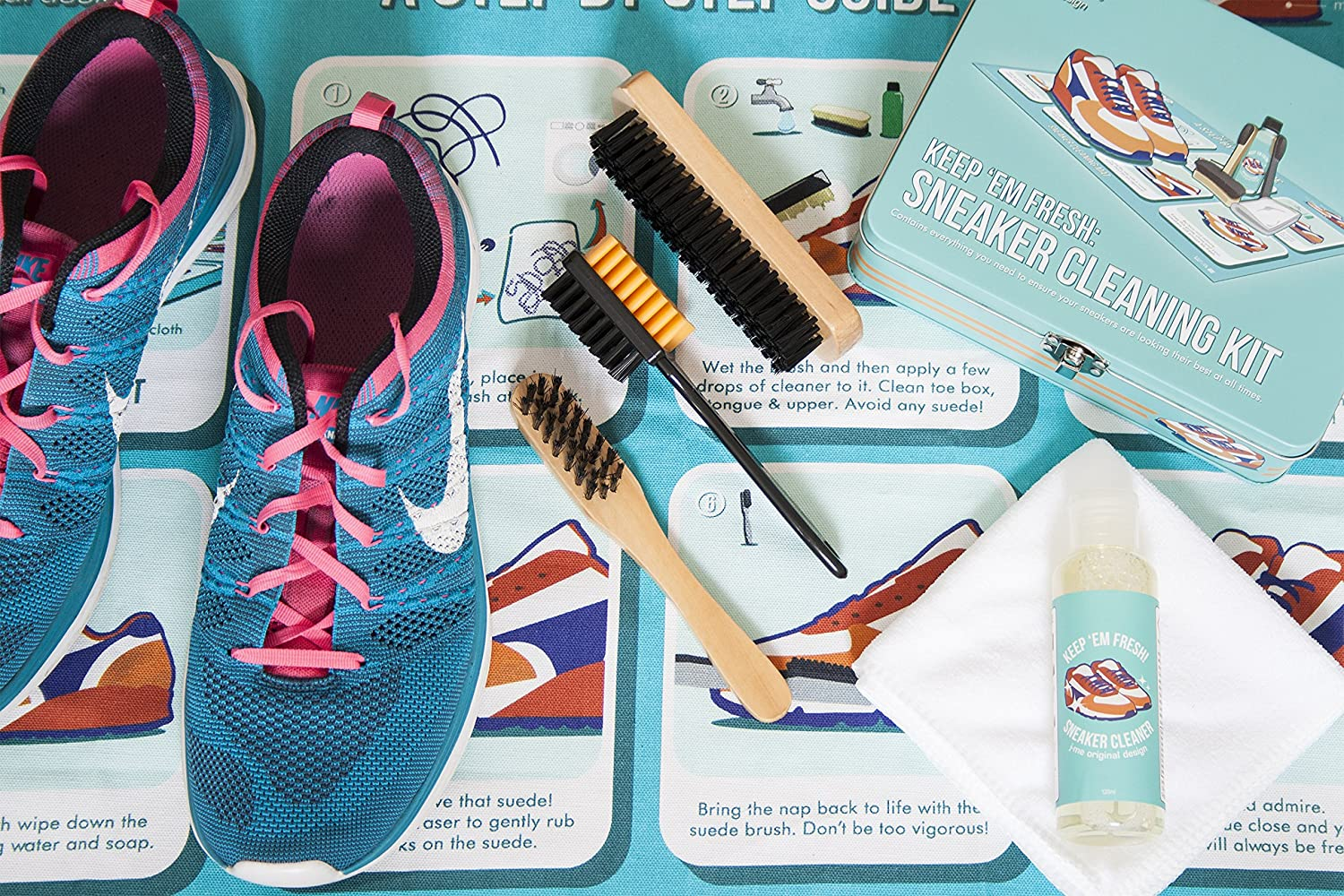 c7444f09e Amazon.com  j-me Sneaker Cleaning Kit - Keep Your Sneakers Fresh All The  time.  Home   Kitchen