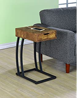 Coaster Home Furnishings 900577 Accent Table Antique Nutmeg