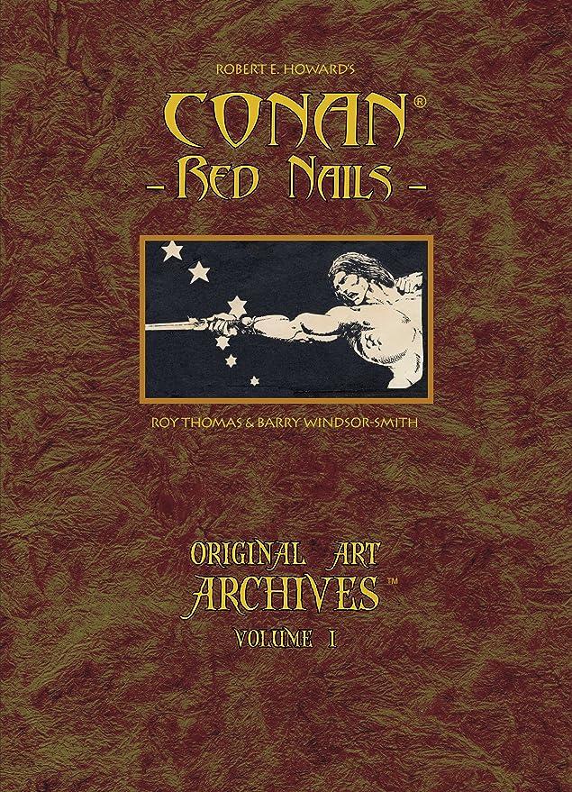 Amazon.com: Conan rojo libro de arte de uñas por Barry ...