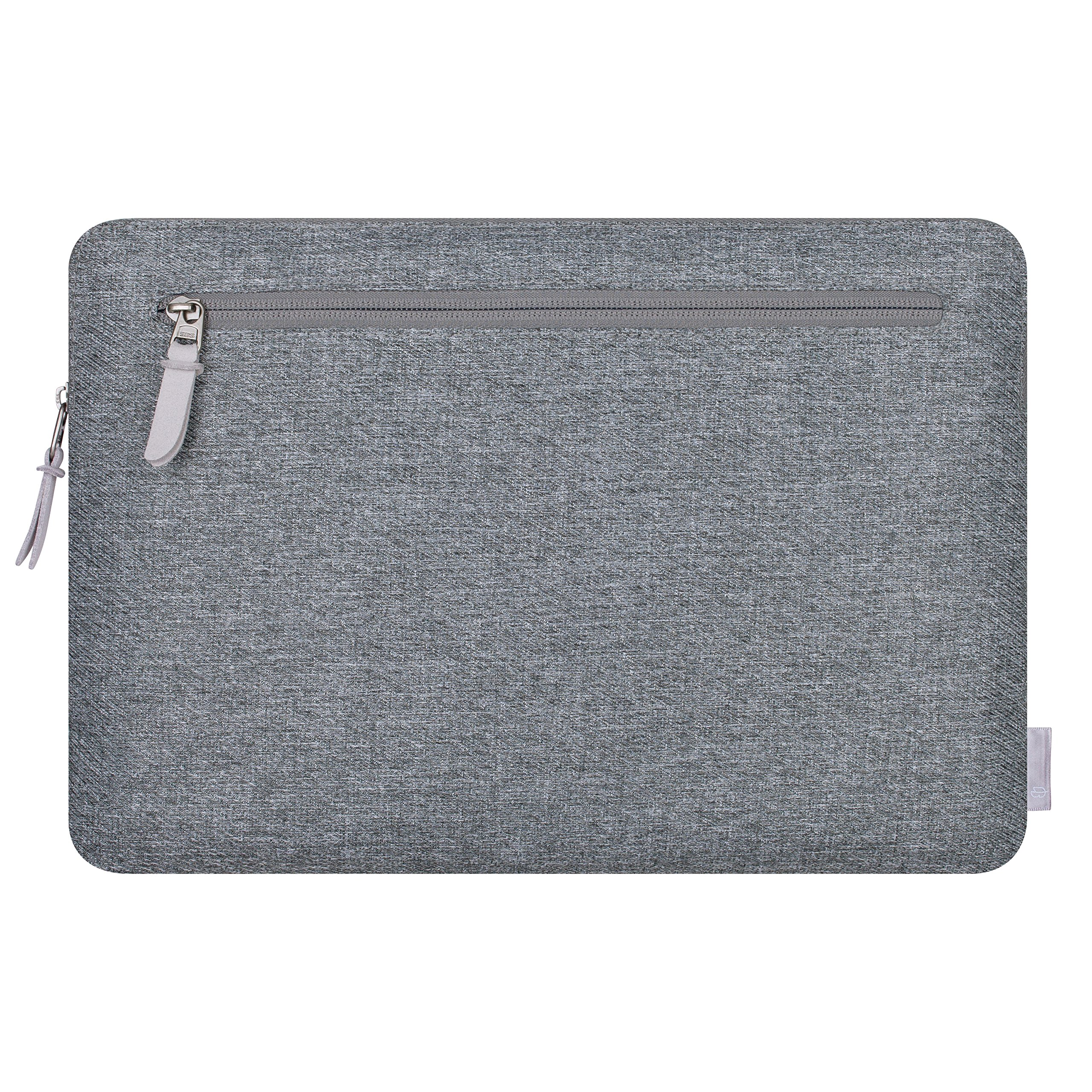 Comfyable Laptop Sleeve for 13-13.3 Inch New MacBook Pro 2016-2019, MacBook Air 2018 A1932 with Pocket- Waterproof Mac Cover Case - Dark Gray