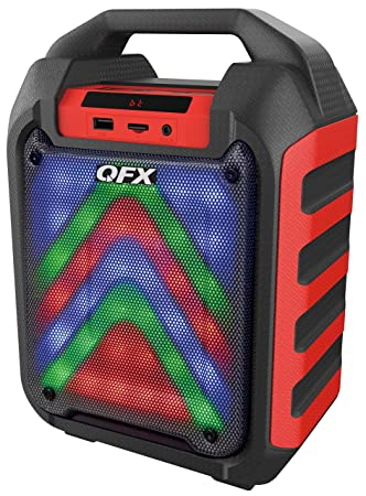 Review QFX PBX-4-RD Rechargeable Party