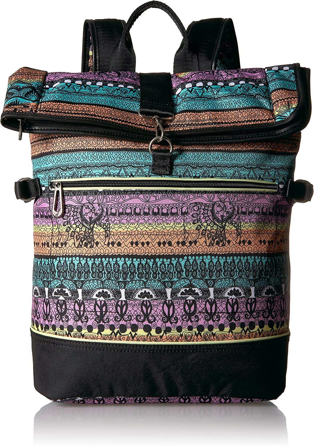 Sakroots Women's New Adventure Roll Top Backpack