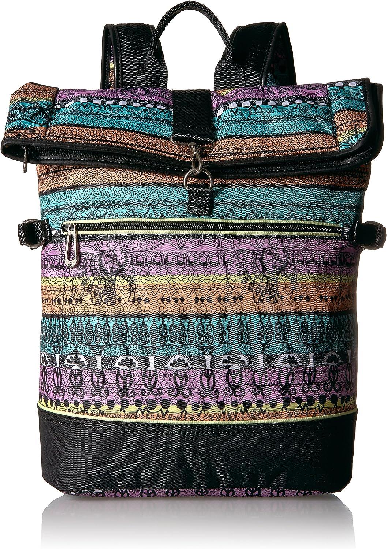 Sakroots Women's New Adventure Roll Top Backpack