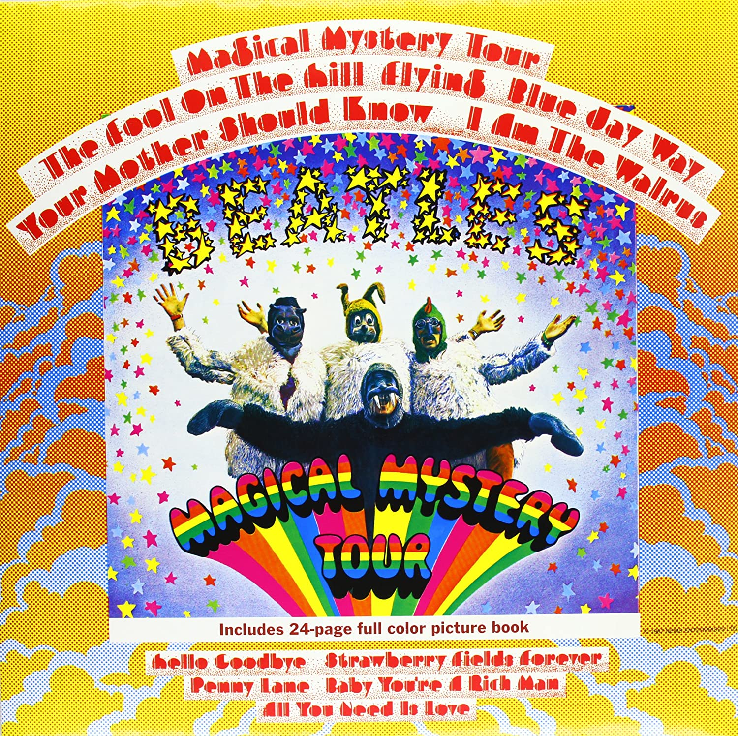 Image result for The Beatles – Magical Mystery Tour