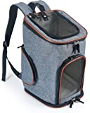 Soft-Sided Pet Carrier Backpack for Small Dogs and Cats by Pawfect Pets- Airline-Approved, Designed for Travel, Hiking, Walking & Outdoor Use