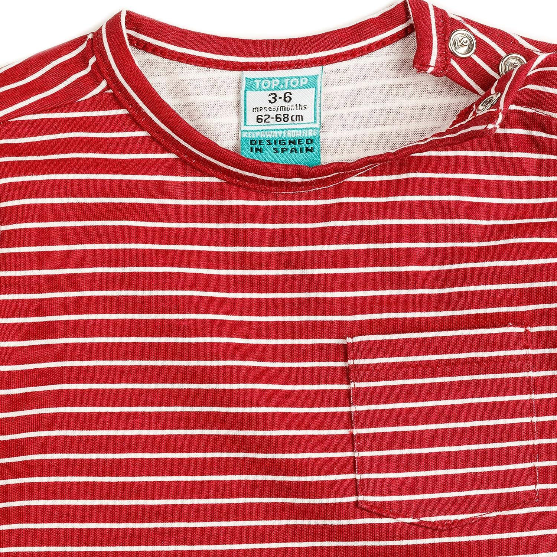 T-Shirt Manches Longues B/éb/é Fille Top Top Calefante T
