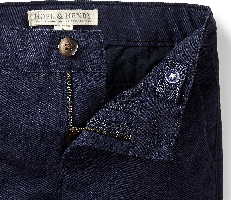 Hope /& Henry Boys Twill Chino Pant