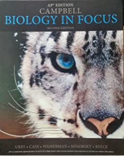 Amazon campbell biology in focus standalone book biology in focus ap edition fandeluxe Choice Image