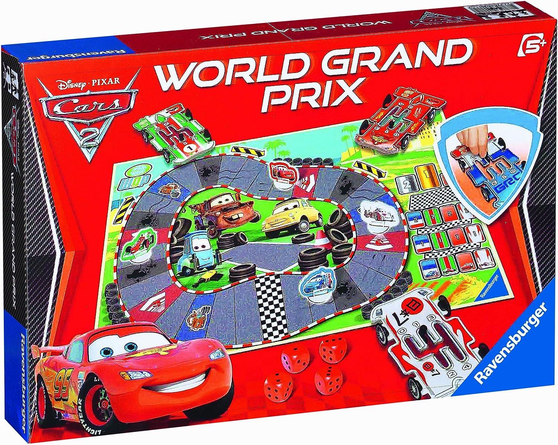 Ravensburger 22096 Disney Cars 2 World Grand Prix - Juego de Mesa ...