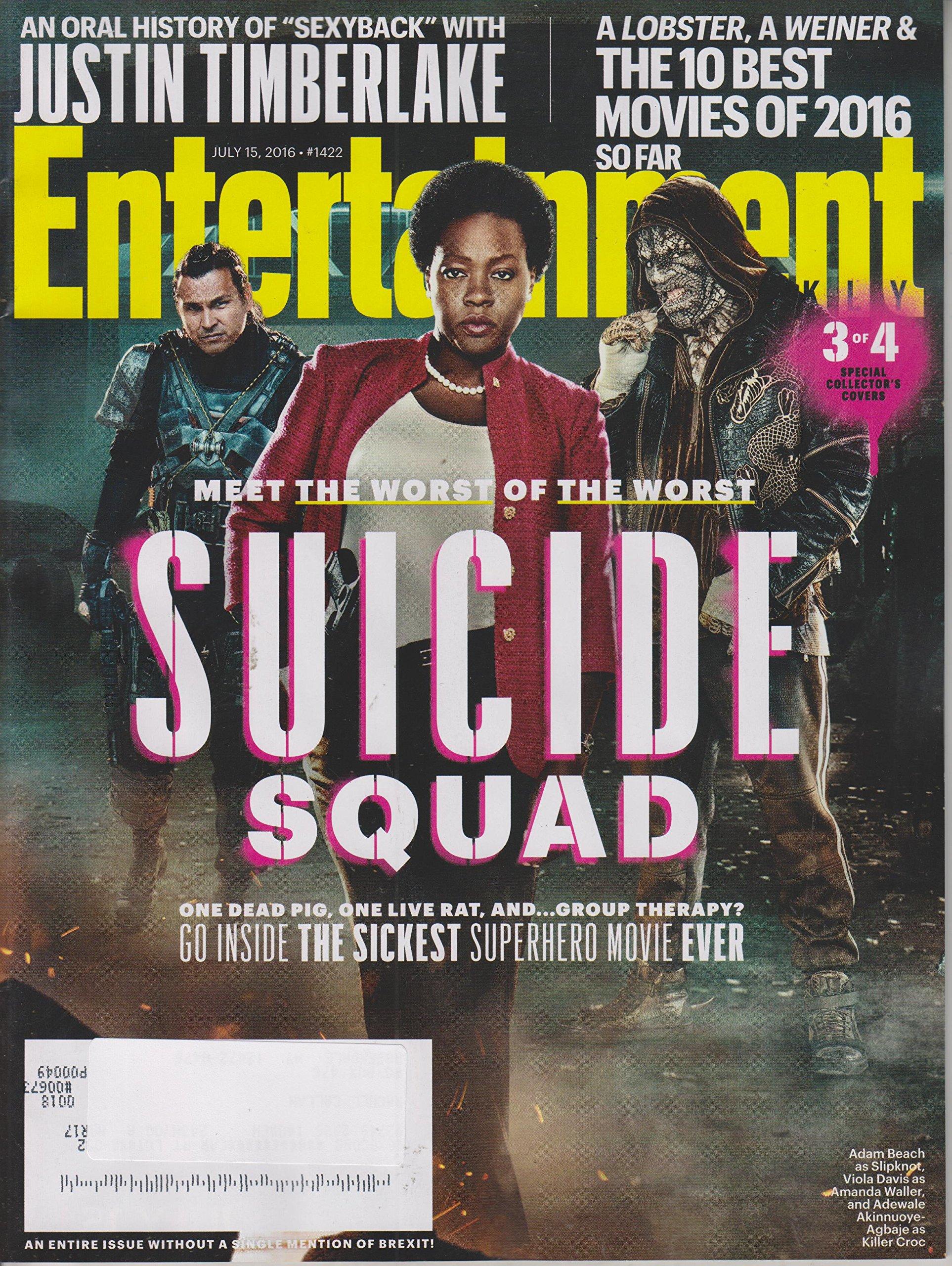 Entertainment Weekly July 15, 2016 Suicide Squad Cover 3 (Adam Beach, Viola Davis, Adewale Akinnuoye-Agbaje) PDF