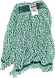Rubbermaid Commercial Web Foot String Mop, Medium, Green, FGA81206GR00