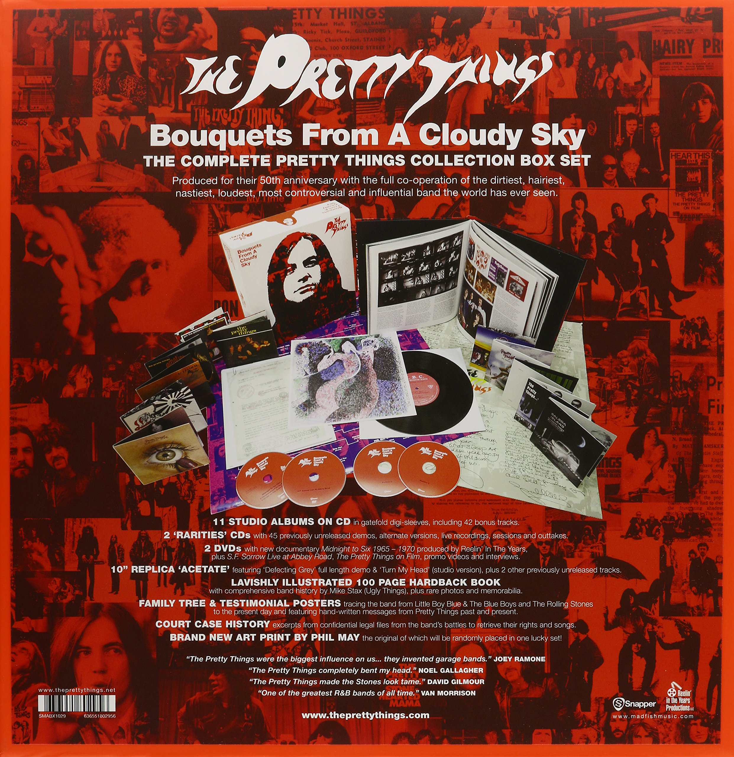 Bouquets From A Cloudy Sky - 50th Anniversary Box Set ( 13 CD + 2 DVD + 10'' Vinyl )