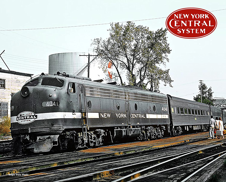Amazoncom New York Central Empire Service At Hudson Ny 8 X 10
