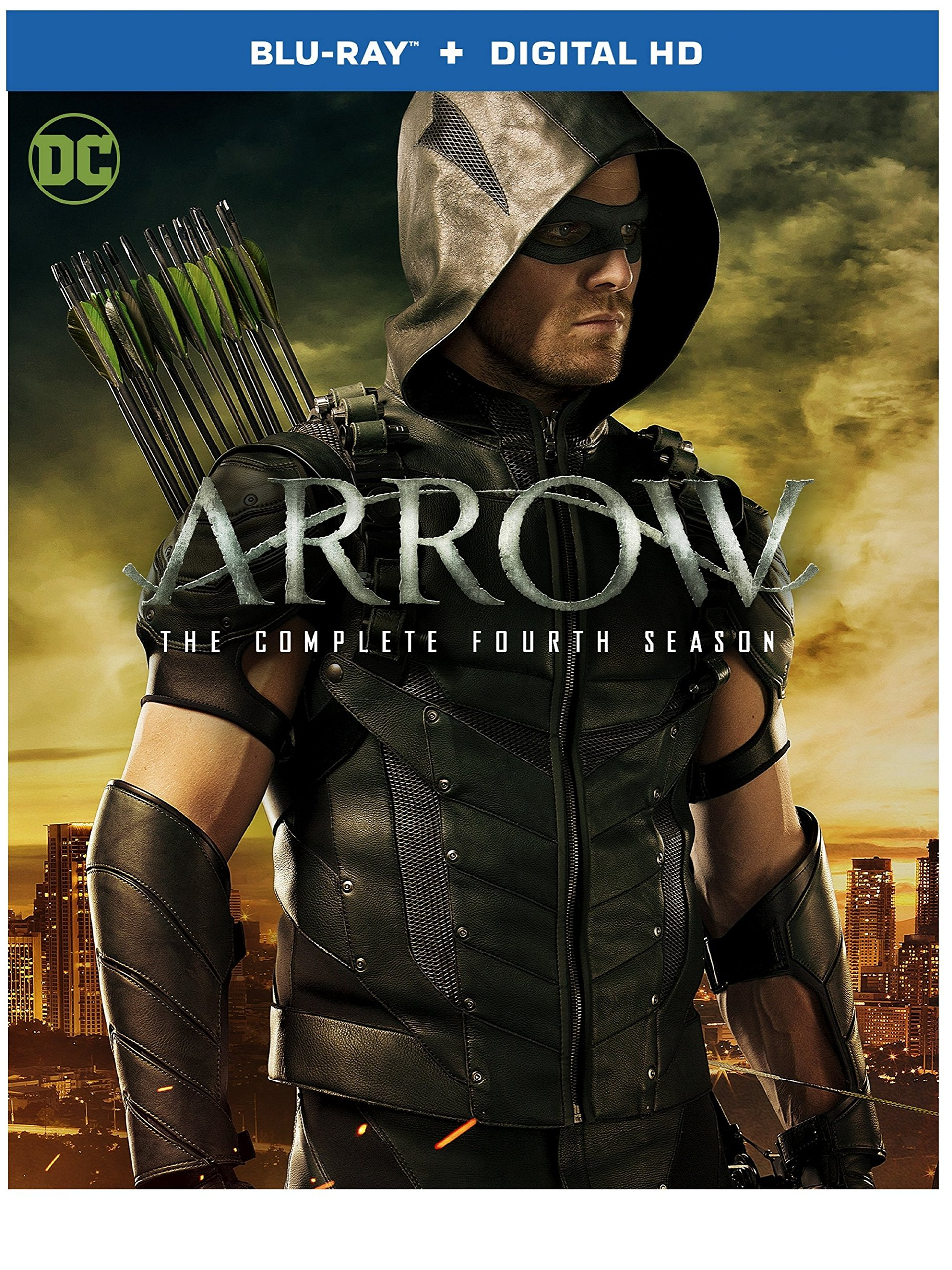 Blu-ray : Arrow: The Complete Fourth Season (DC) (Ultraviolet Digital Copy, , Slipsleeve Packaging, Dolby, AC-3)