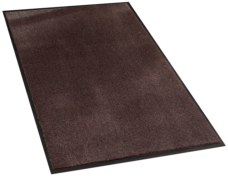 Vinyl//Polypropylene Walnut Guardian Silver Series Indoor Walk-Off Floor Mat 2x3