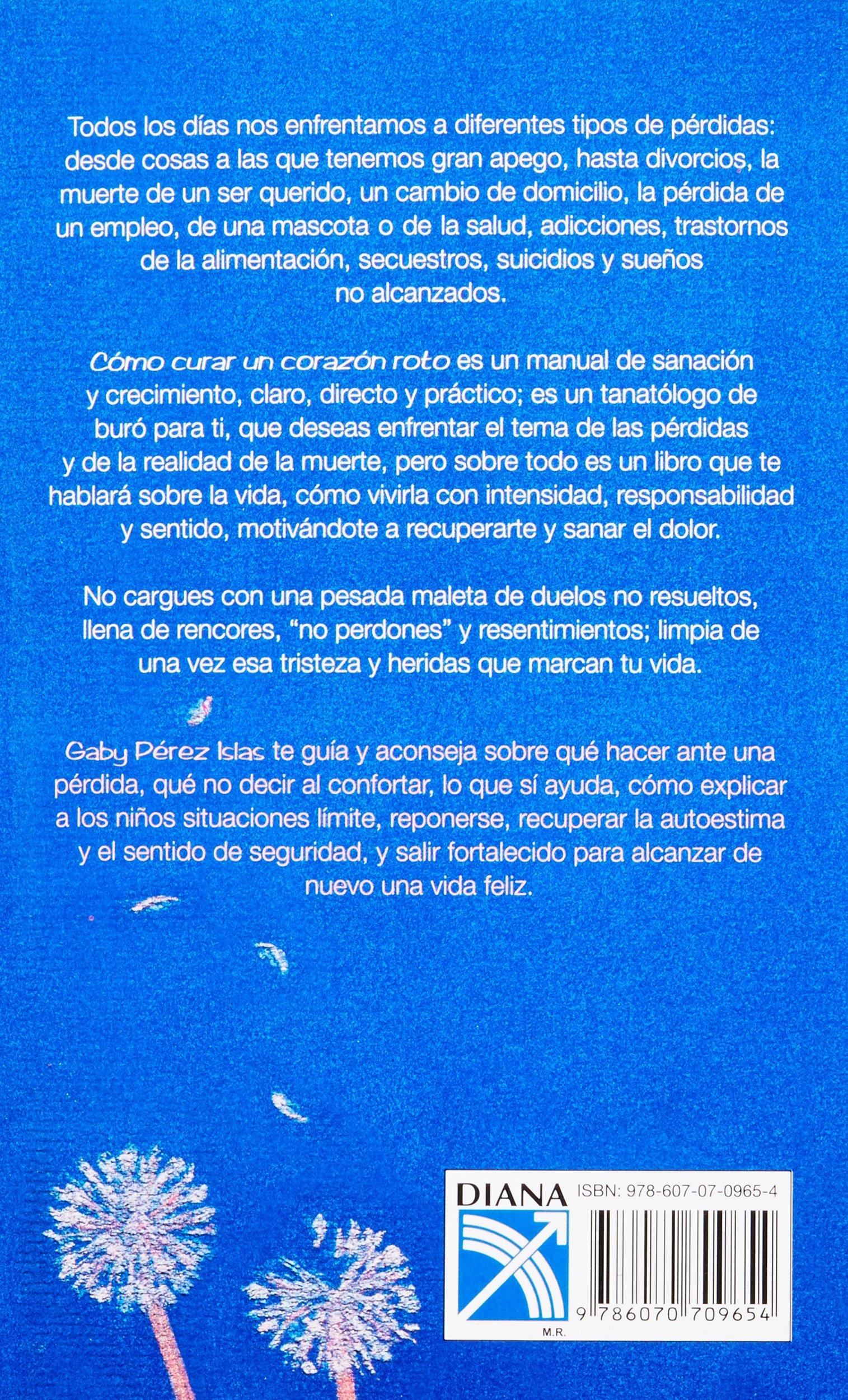 Como curar un corazón roto (Spanish Edition): Gaby Perez Islas: 9786070709654: Amazon.com: Books