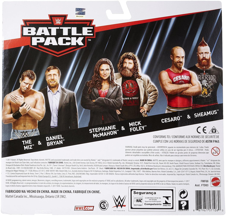 WWE Series # 49 Daniel Bryan /& The Miz Figures 2 Pack Mattel FMF67