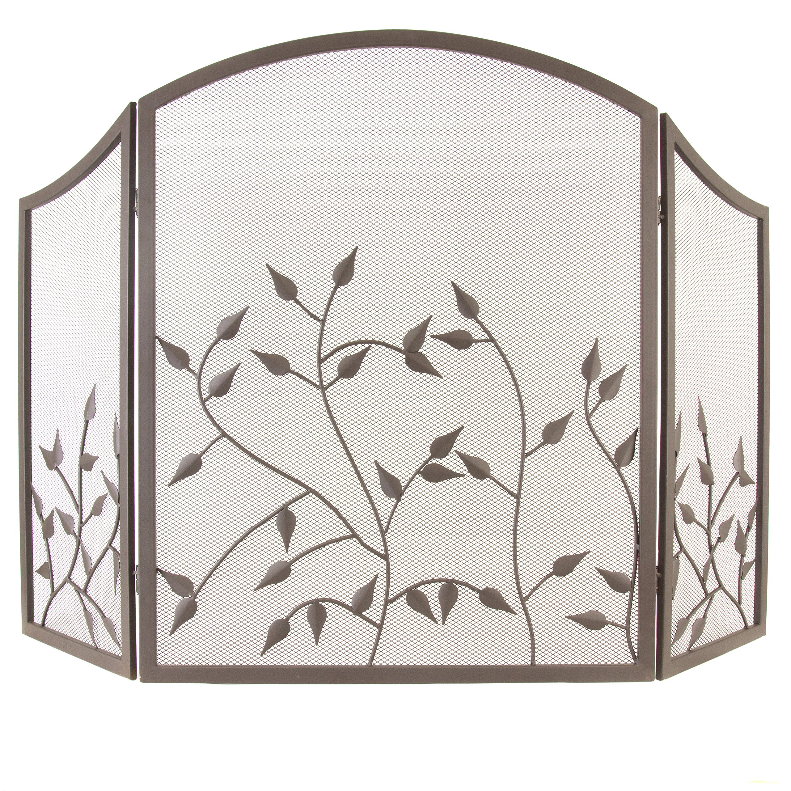 Pleasant Hearth FA092SA Waverly Fireplace Screen by Pleasant Hearth