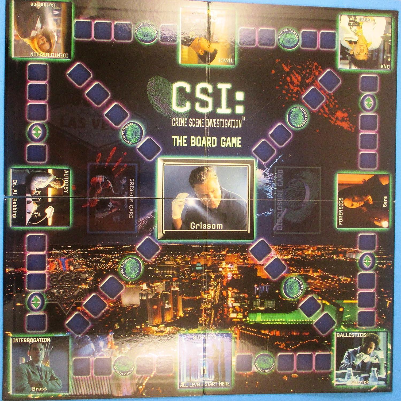 The Board Game CSI Crime Scene Investigation