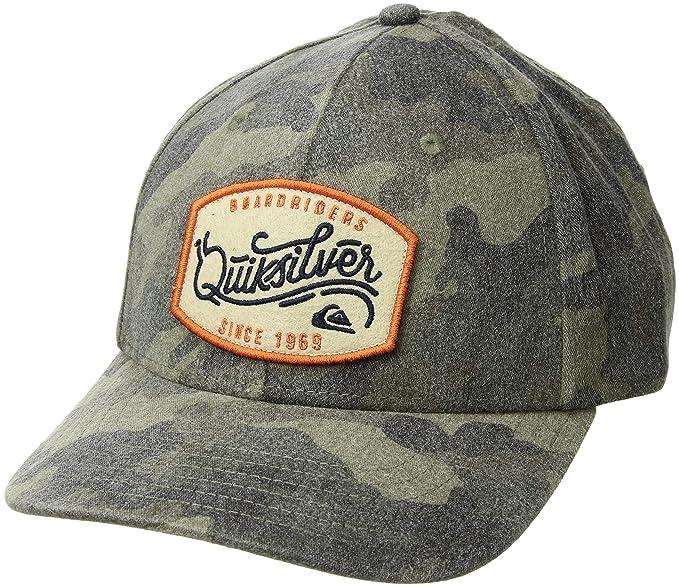 9927f058 Quiksilver Men's Bull Hickey HAT, camo 1SZ: Amazon.ca: Clothing ...