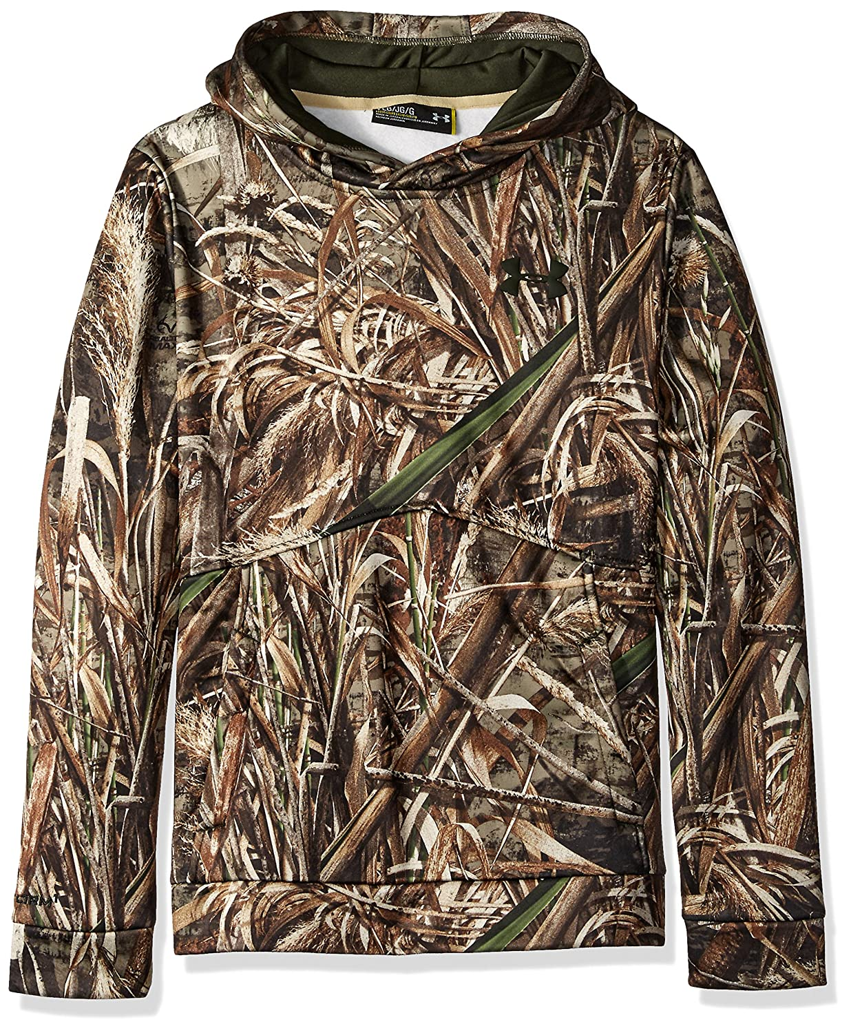 Under Armour Boys' Icon Camo Hoodie Under Armour Apparel 1286119