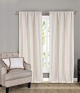 Home Maison Keighley Window Curtains, Linen