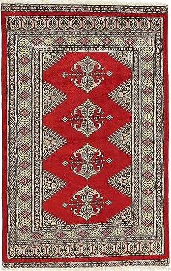 Carpetvista Pakistan Buchara 2ply Teppich 77x121 Orientteppich