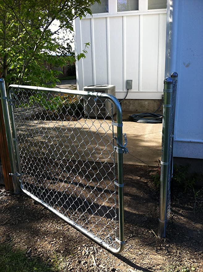 Chain Link Fence Walk-through Gate Kit - Adjust-A-Gate Chain Link ...