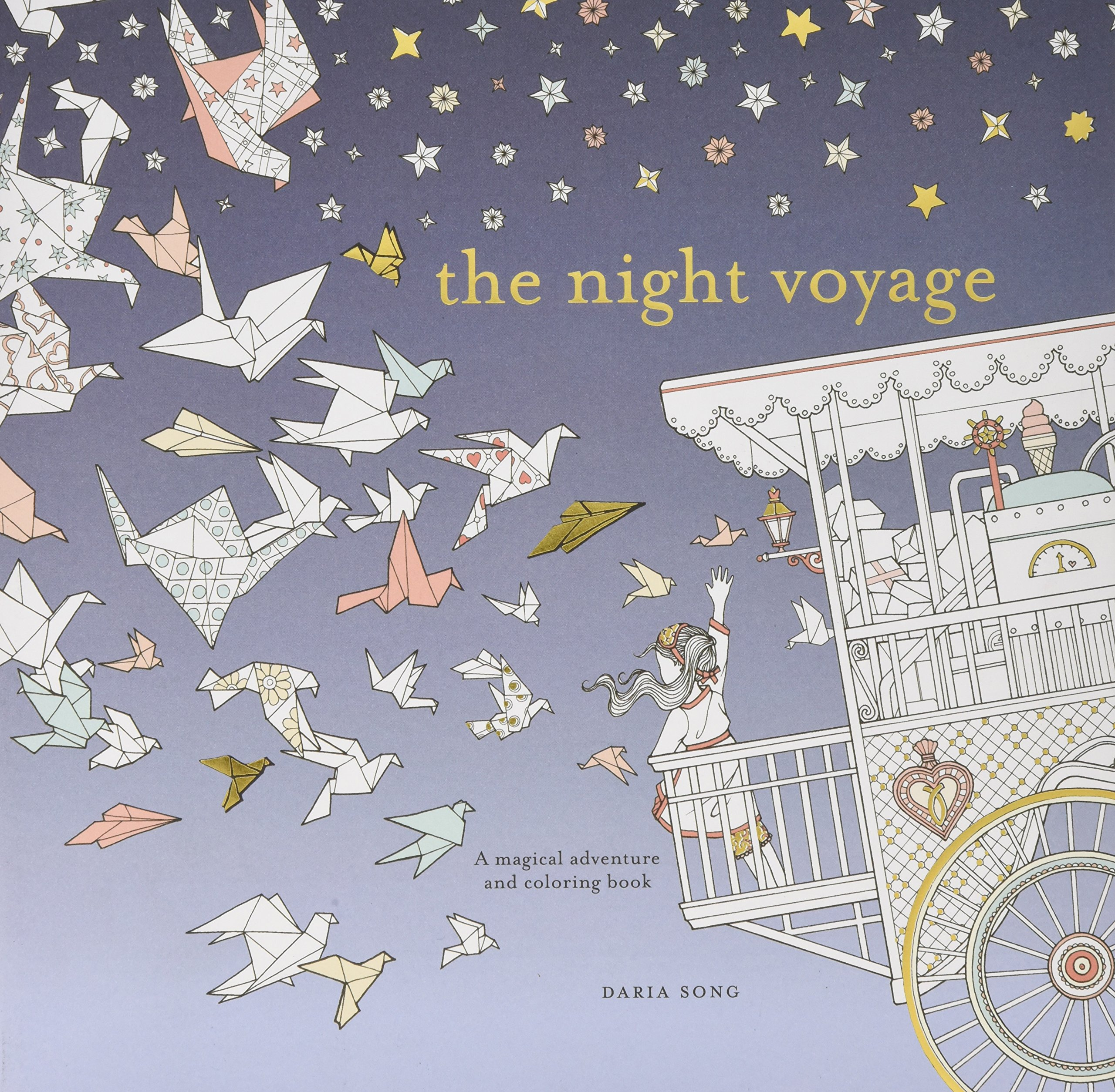 A fun magic coloring book amazon - The Night Voyage A Magical Adventure And Coloring Book Time Adult Coloring Books Daria Song 9780399579042 Amazon Com Books