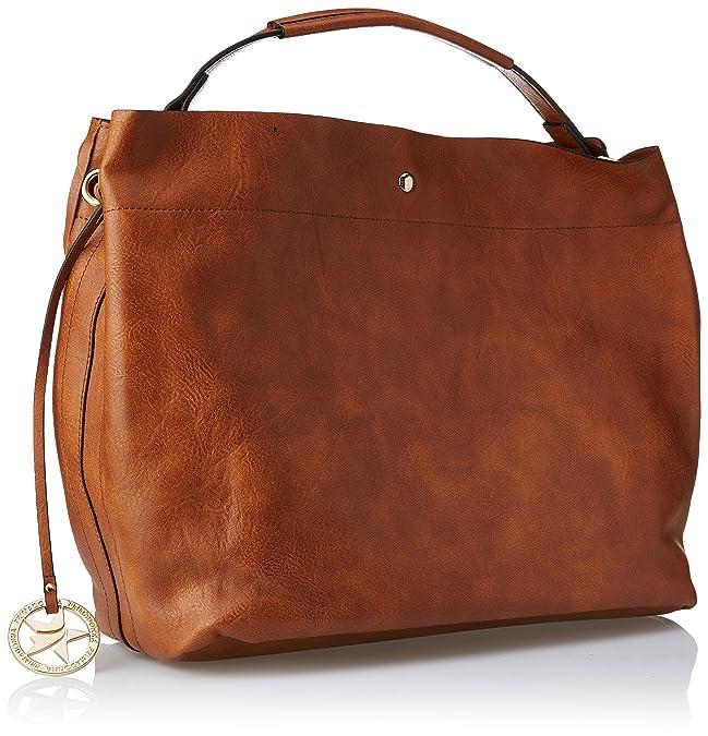 Grande, Womens Shoulder Bag, Marrone (Cuoi), 17x30x43 cm (W x H L) Prima Donna