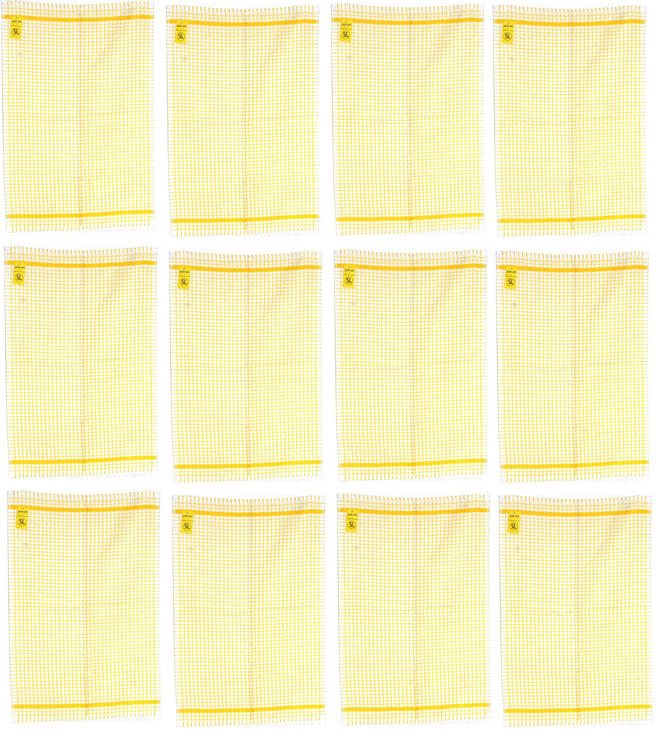 Samuel Lamont & Sons Poli-Dry Tea Towel (12, Gold)