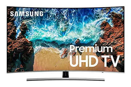 7baf527df Image Unavailable. Image not available for. Color  Samsung UN65NU8500FXZA  Curved 65 quot  4K UHD 8 Series Smart LED TV ...