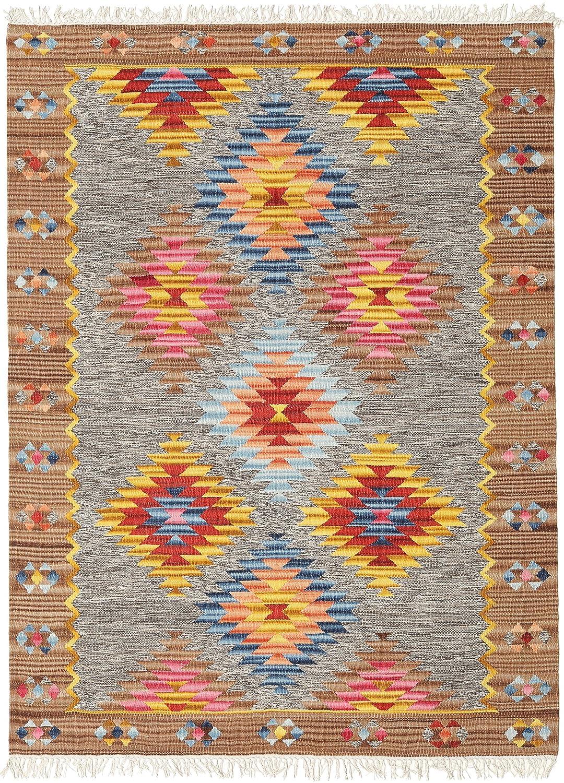 CarpetVista Spring Kelim Teppich 160x230 Orientalischer Teppich
