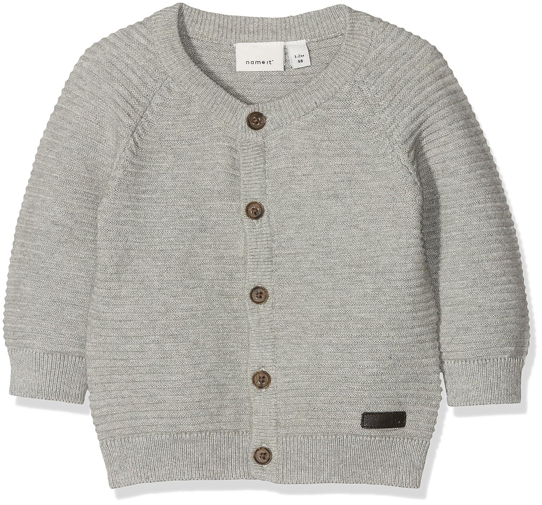 NAME IT Baby-Jungen Sweatjacke Nbmlado Ls Knit Card 13154721