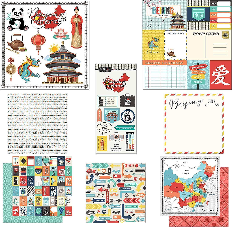 Scrapbook Customs China Adventure Scrapbook Kit