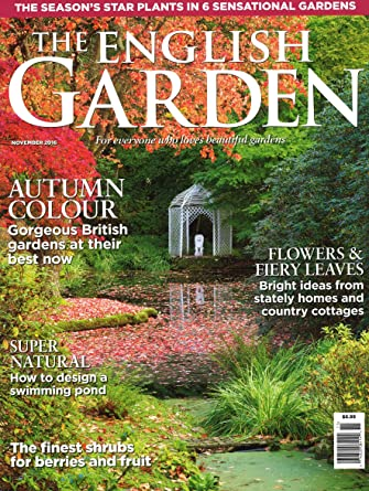 The English Garden Amazoncom Magazines