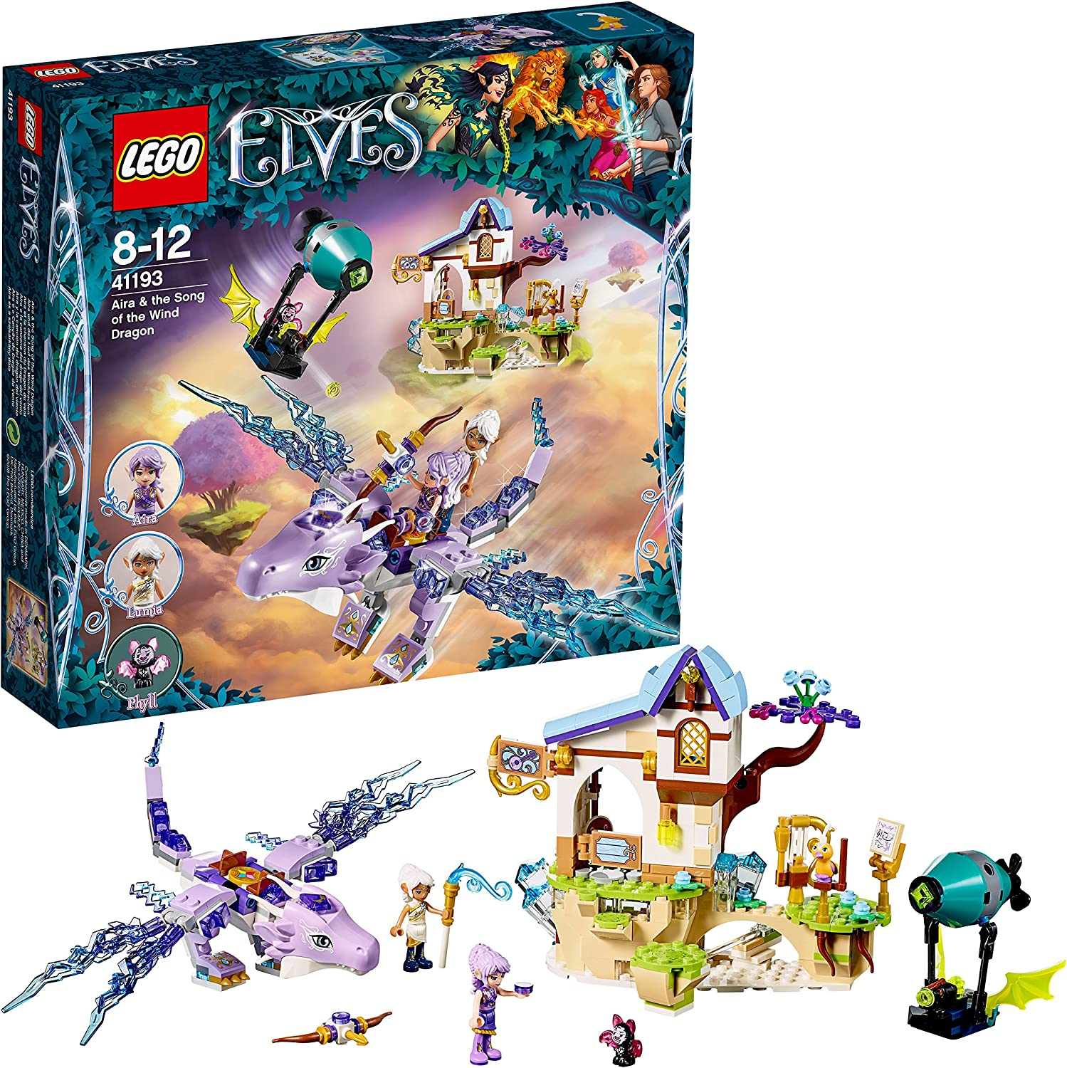 Lego Elves 41193 Aira and The Song of The Wind Kite
