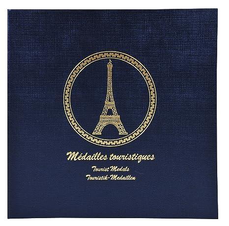 Exacompta 96114e Classeur De Collection Pour 100 Médailles