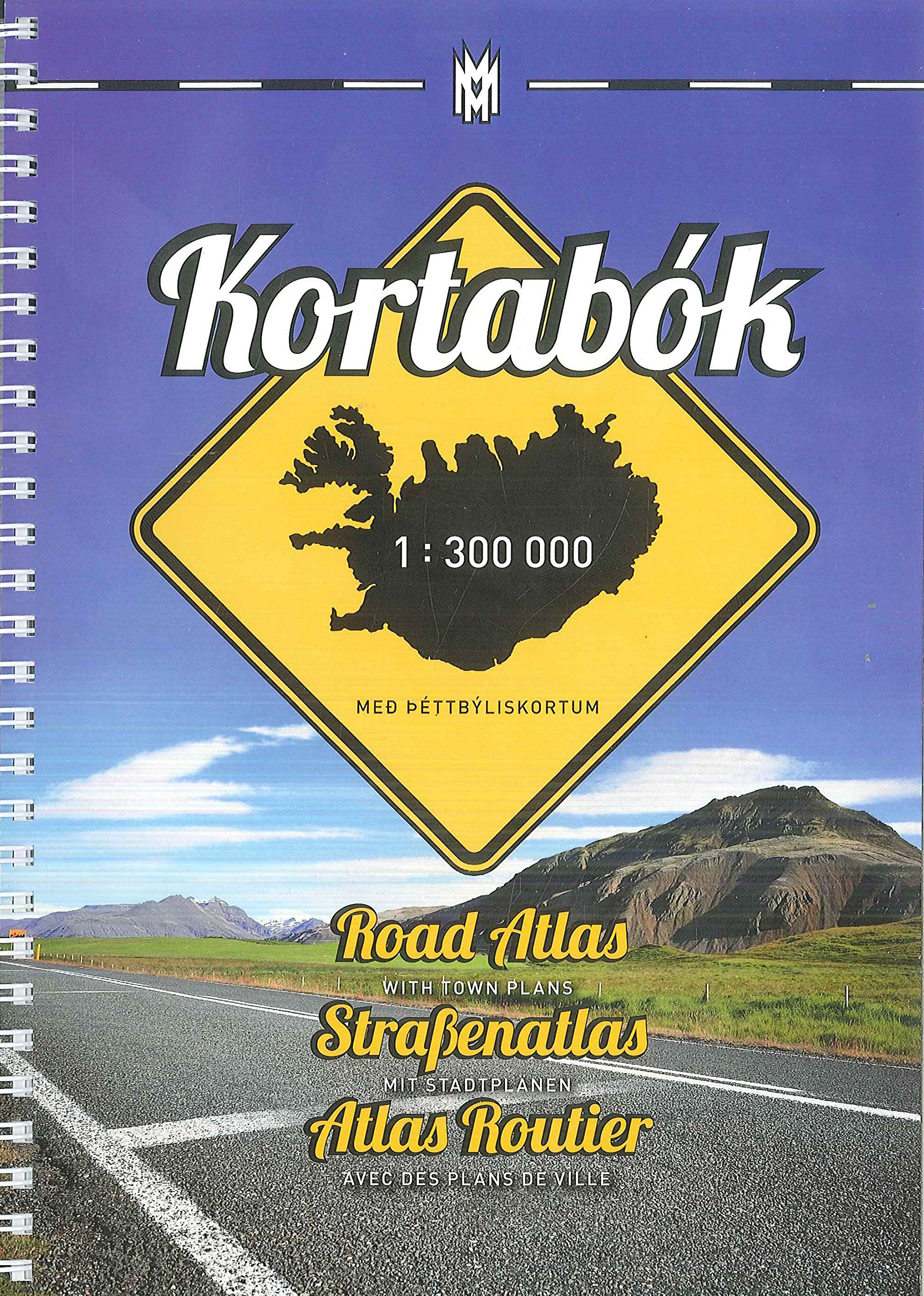 Iceland Road Atlas, with Town Plans, 2015-2016 2015: 9789979335719 ...