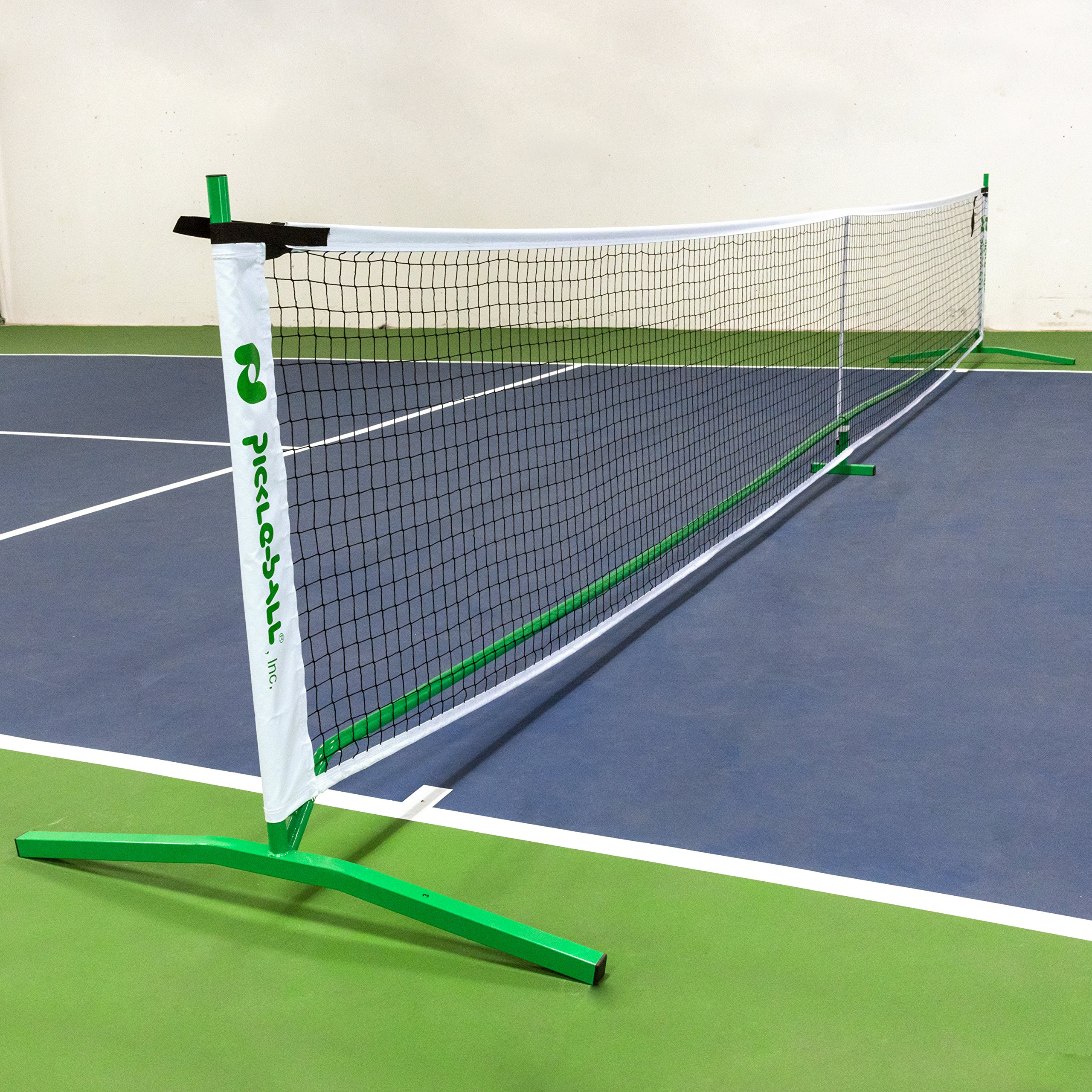 Pickle-Ball, Inc. Pickleball Diller Tournament Net Set (Set Includes Metal Frame + Net + 4 paddles + 4 balls + Rules Sheet in Carry Bag) by Pickle-Ball (Image #4)