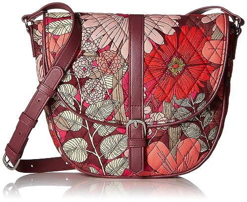 366878d0ab11 Vera Bradley Slim Saddle Bag