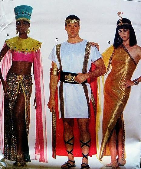 Butterick 3587 adulto romano, Eygptian, patrón de costura para ...