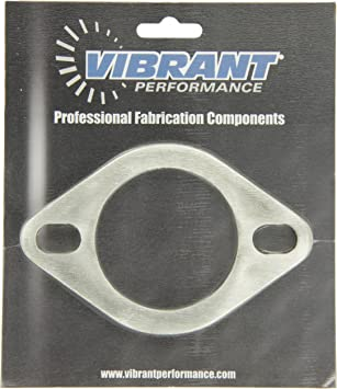 Vibrant 2-Bolt T304 SS Exhaust Flanges Free Shipping 1473