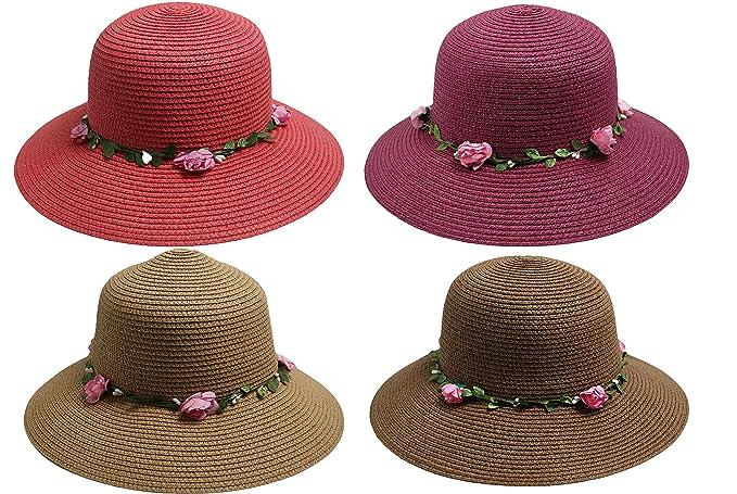 Cappello Di Paglia Cowboy Panama Cappello Fedora Trilby cappello estate  cappello bogarthut Cappucino-Braun Taglia unica  Amazon.it  Abbigliamento c6830736d0eb