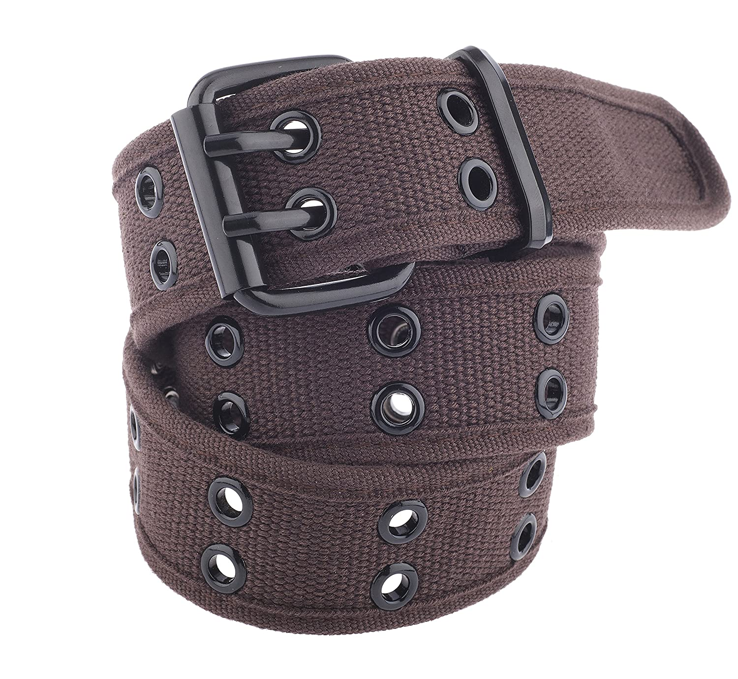 Unisex Two-Hole Canvas Belt - Available in 14 Colors