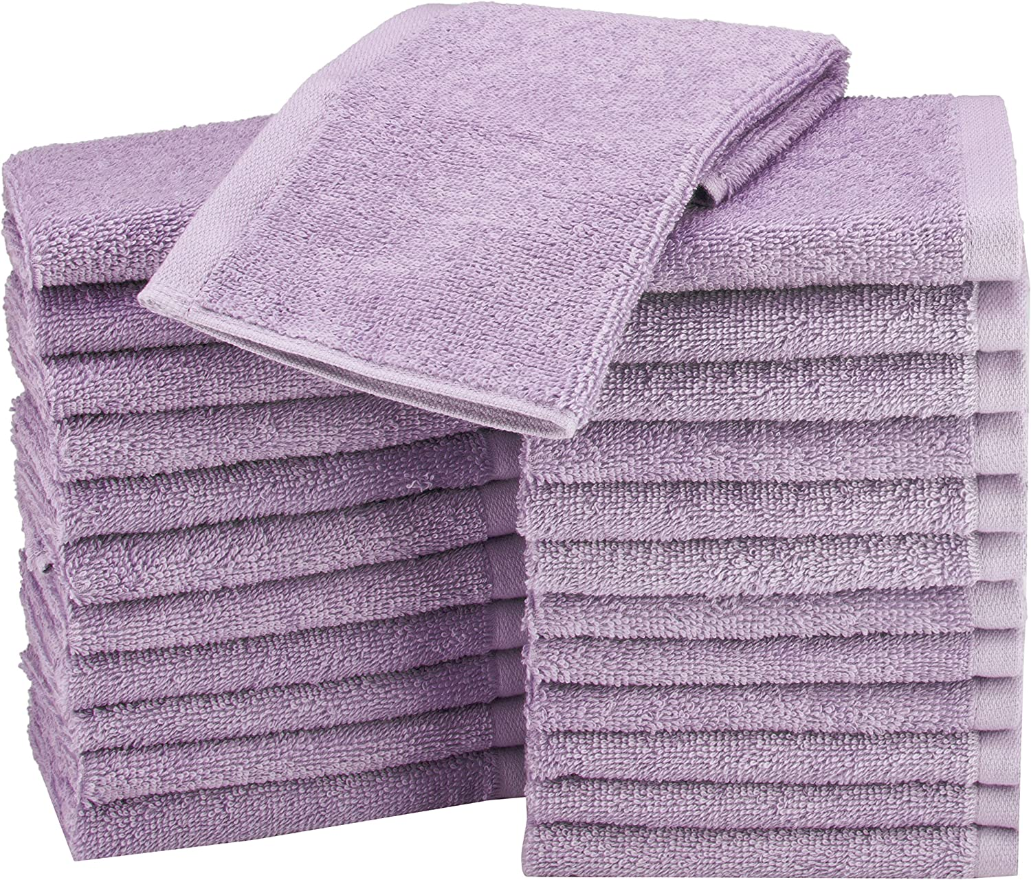 face Cloth pack of 4 or 10-BRAND NEW Lilac Flannel