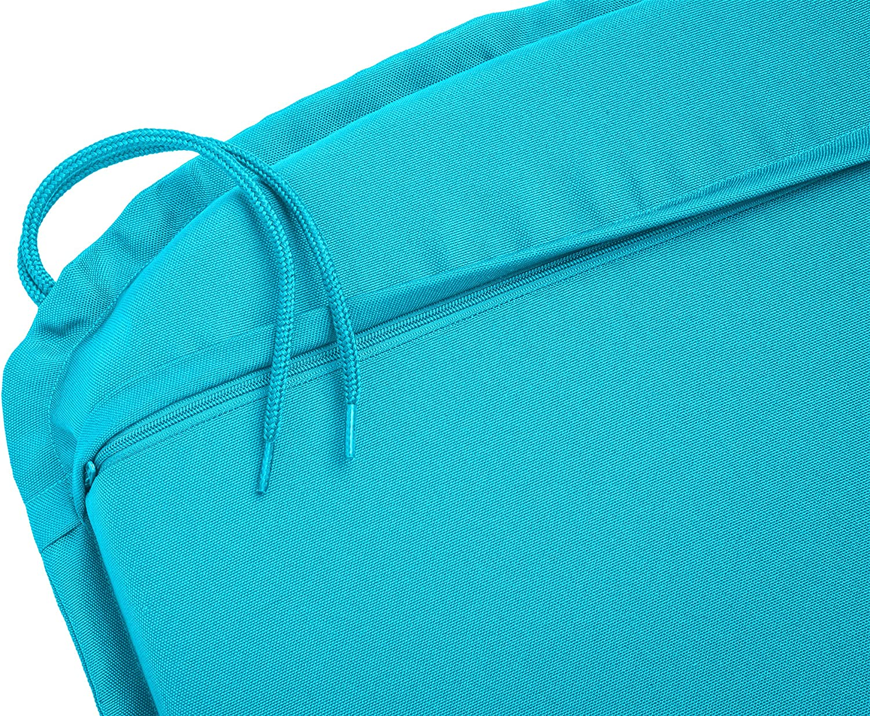 4 unidades Cojines para Silla Azul Outdoor Traumnacht Confort 44 x 47 x 6 cm