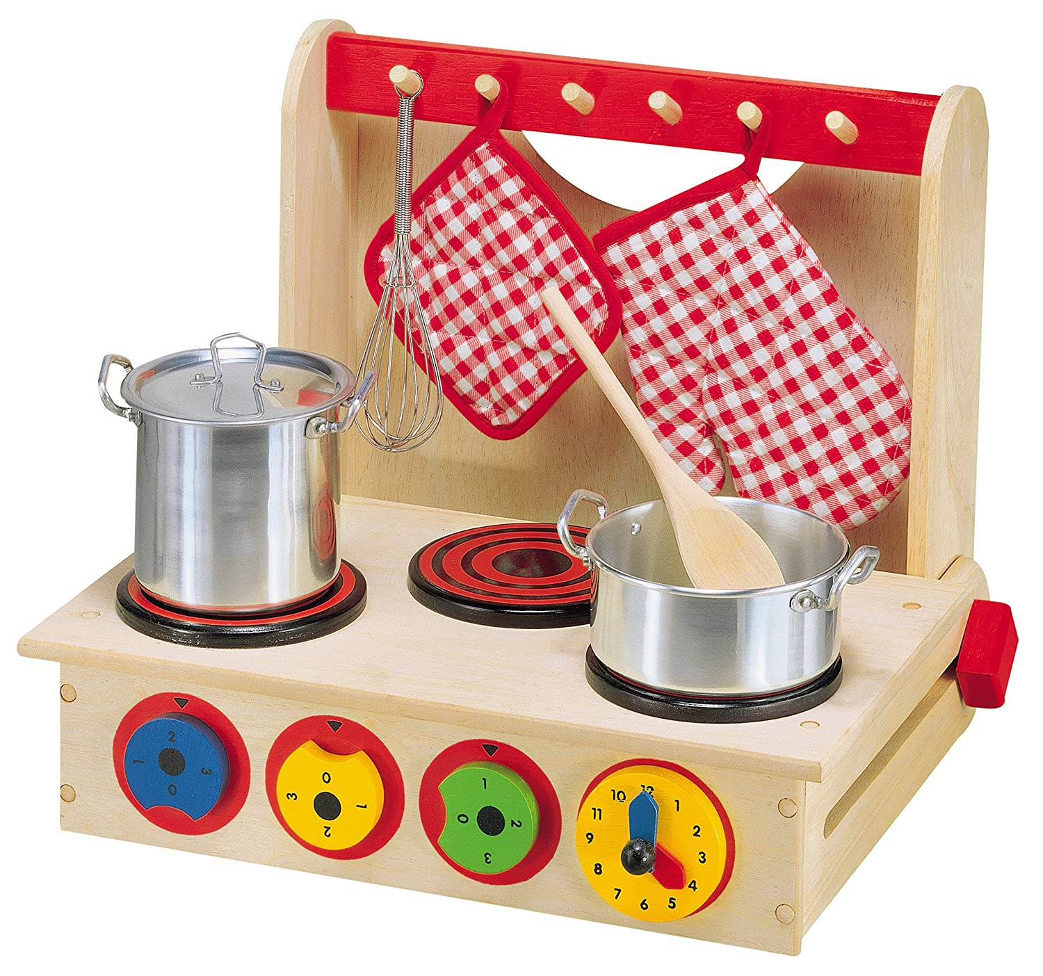 Amazon ALEX Toys Wooden Cook Top Toys & Games