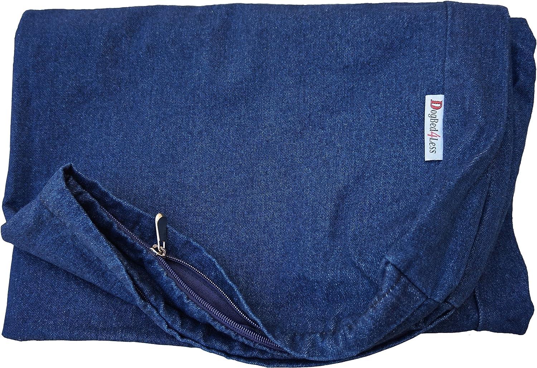 Heavy Duty Navy Blue Denim Jean External Duvet Cover
