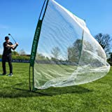 FORB Portable Golf Net (7ft x 7ft) - Practice Your Driving & Hitting Skills In The Garden [Net World Sports]